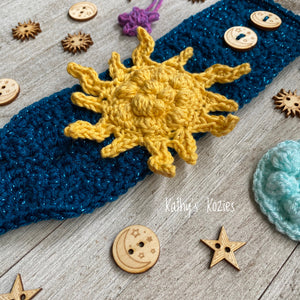 Sun, Moon and Stars themed Everything Cozies
