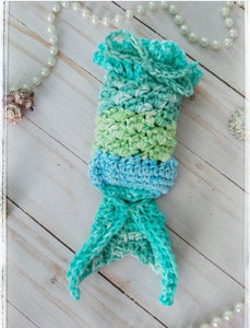 PDF PATTERN ONLY - Crochet Mermaid Soap Saver Pattern
