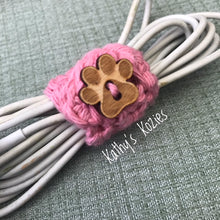 PDF PATTERN ONLY Easy Crocheted Cord Keepers