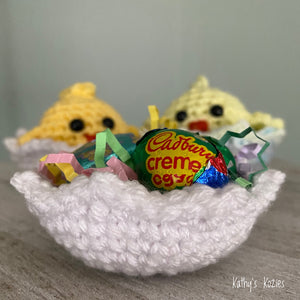 PDF PATTERN ONLY - Crochet Baby chick - one piece