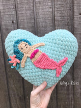 PDF PATTERN ONLY - Crochet Mermaid Applique