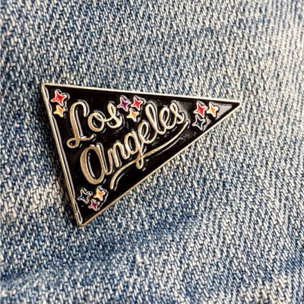 Custom Enamel Pin City of Angels - Pins