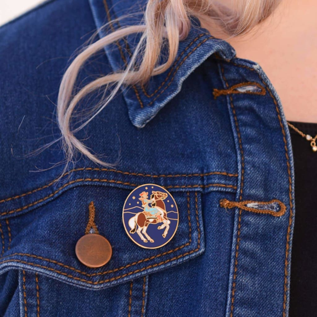 Custom Enamel Pin Cowgirl - Pin