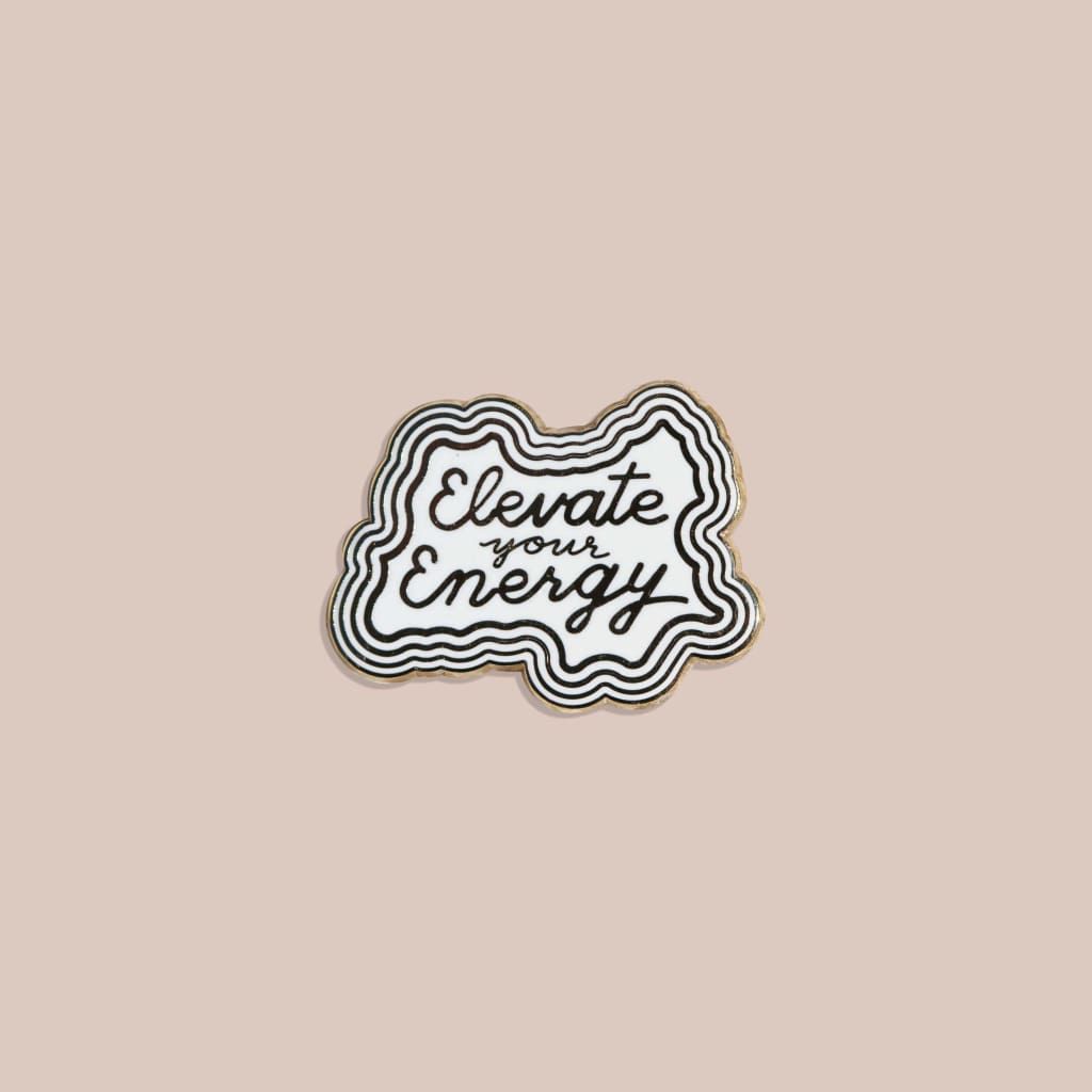 JaxKelly - Elevate Your Energy Pin