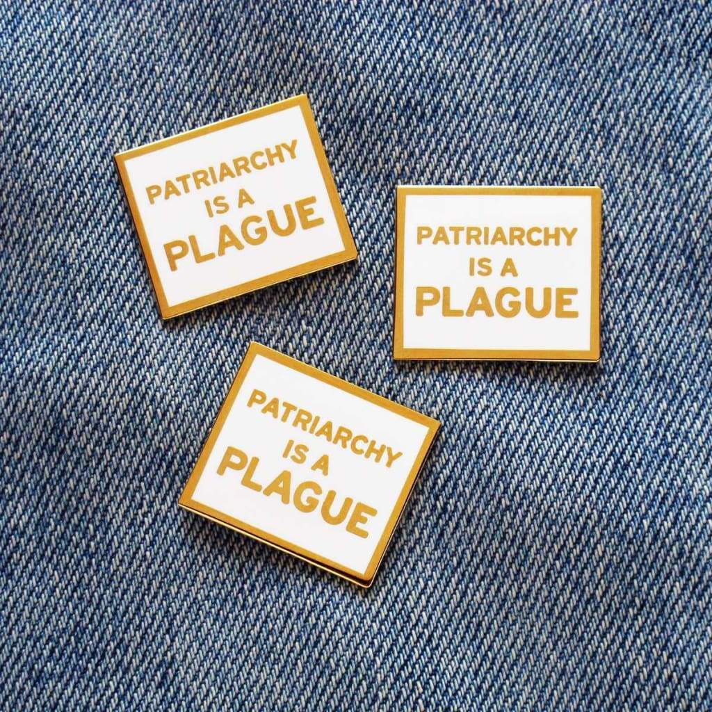 Custom Enamel Pin Patriarchy is a Plague - Pins
