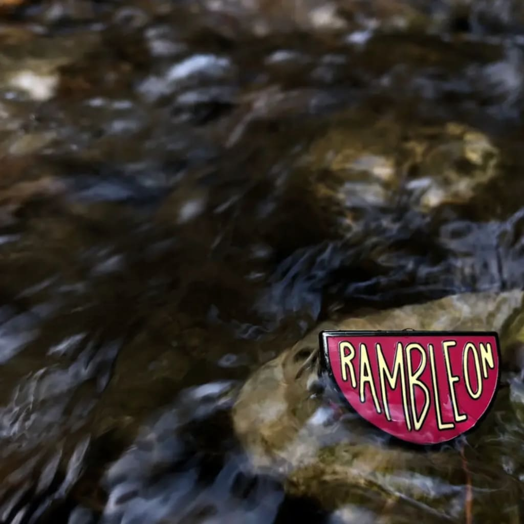 Custom Enamel Pin Ramble On - Pins