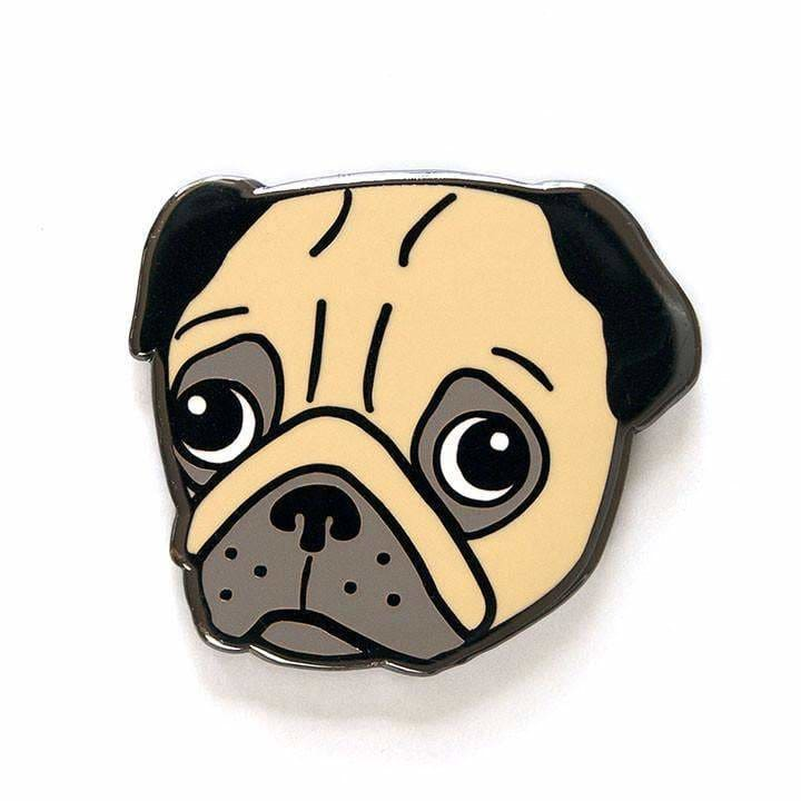 Smarty Pants Paper - Pug Pin