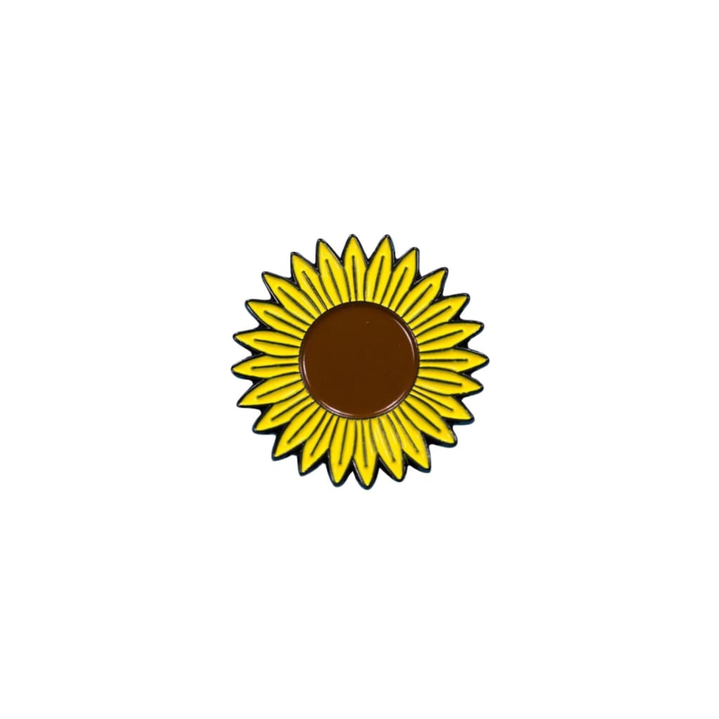 Custom Enamel Pin Sunflower - Pins