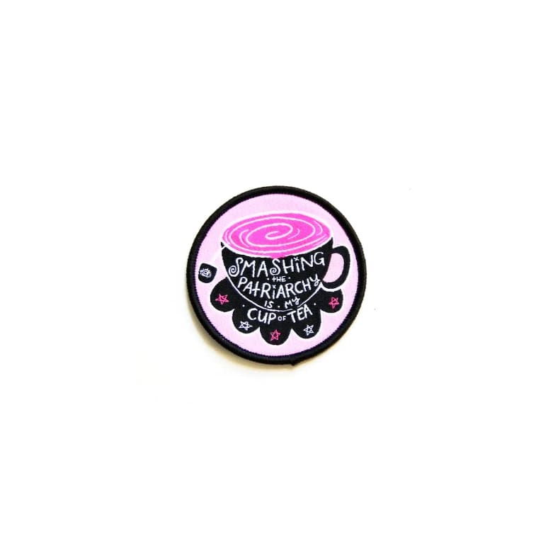 Custom Patch Cup of Tea - Patches