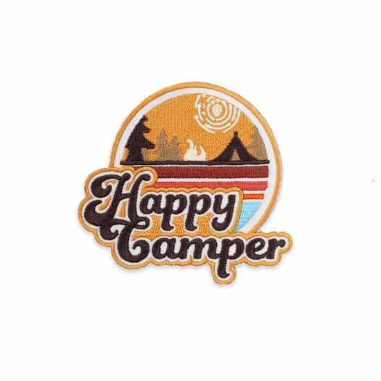 Custom Patch Happy Camper - Patches