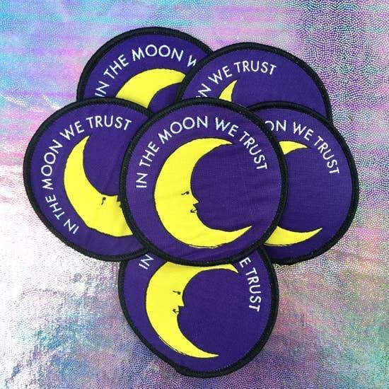 Custom Patch In the Moon We Trust - Patches