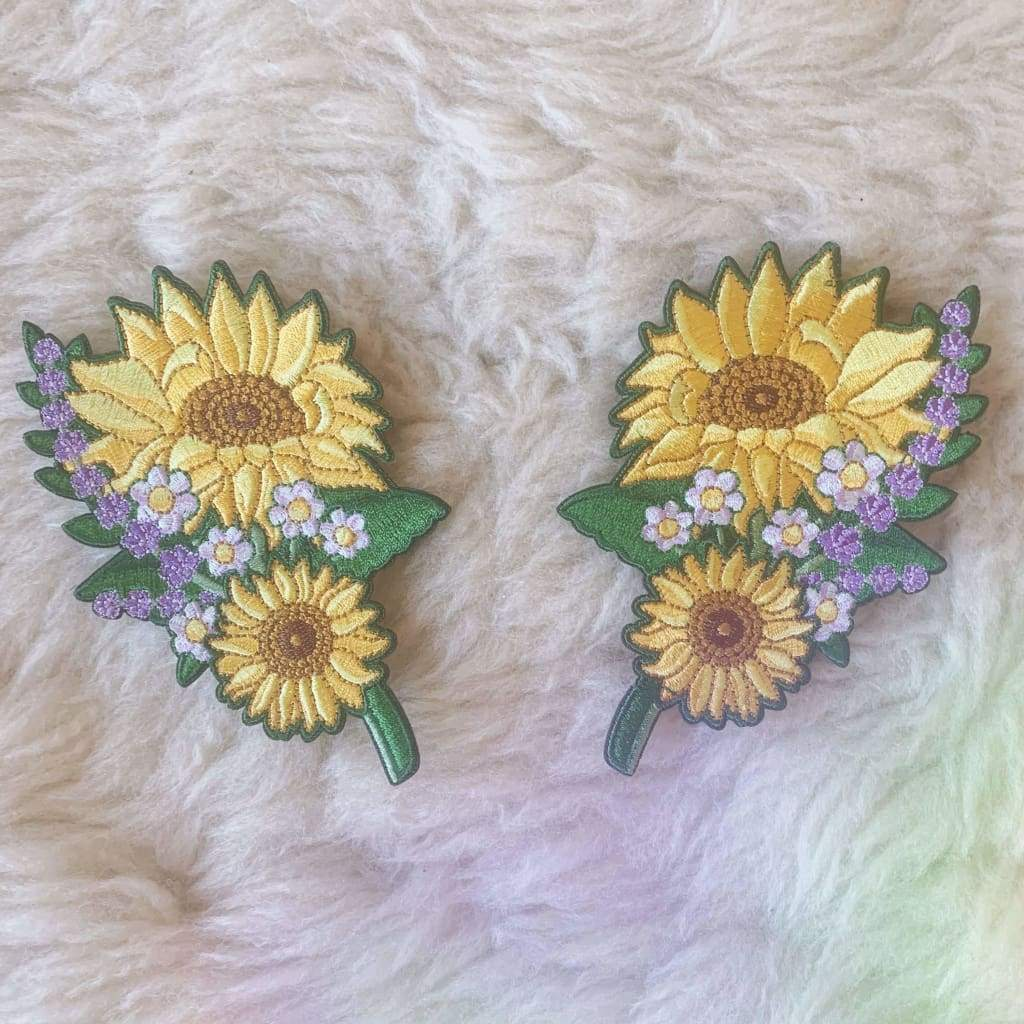 Wildflower + Co. - Sunflower Patches s/2
