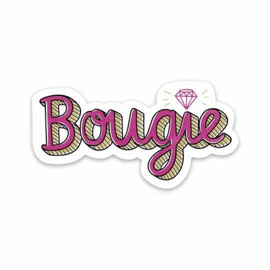 Custom Sticker Bougie - Sticker