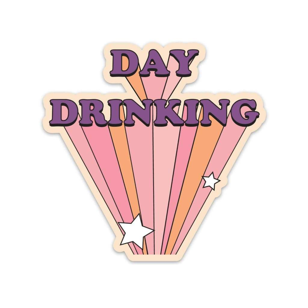FUN CLUB - Day Drinking Sticker