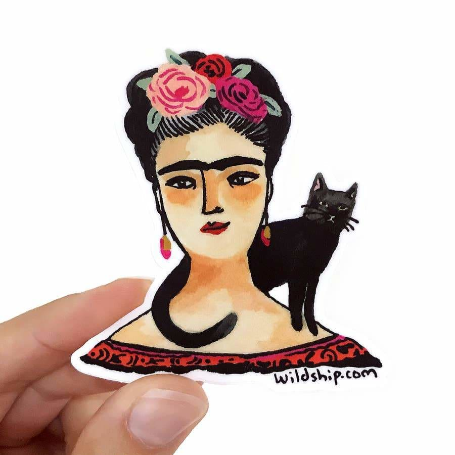 Custom Sticker Frida Kahlo - Sticker