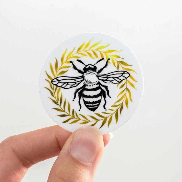 Custom Sticker Honey Bee - Sticker