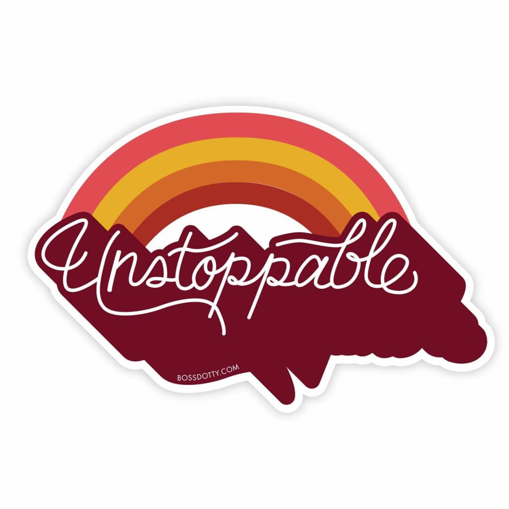 Custom Sticker Unstoppable - Sticker