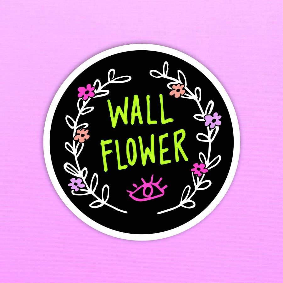 Custom Sticker Wall Flower - Sticker