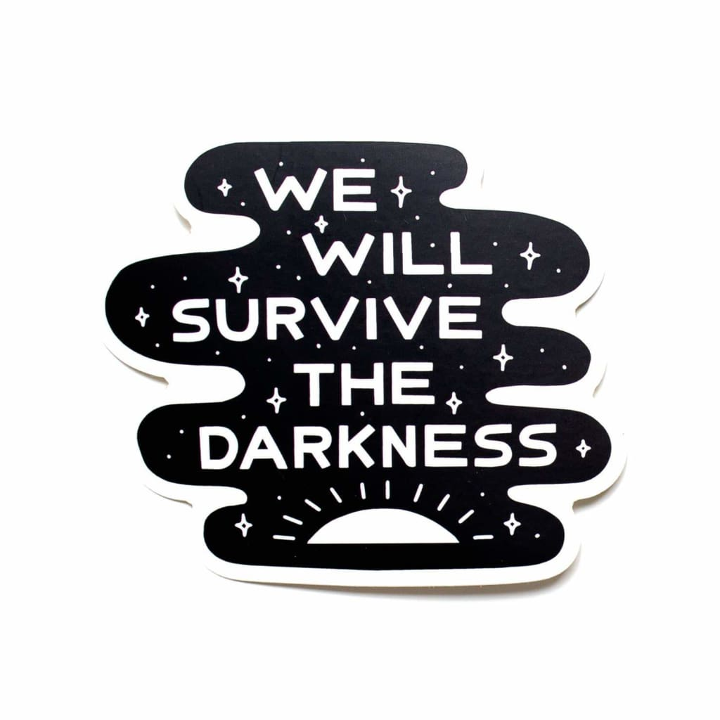 Worthwhile Paper - Darkness Die Cut Sticker