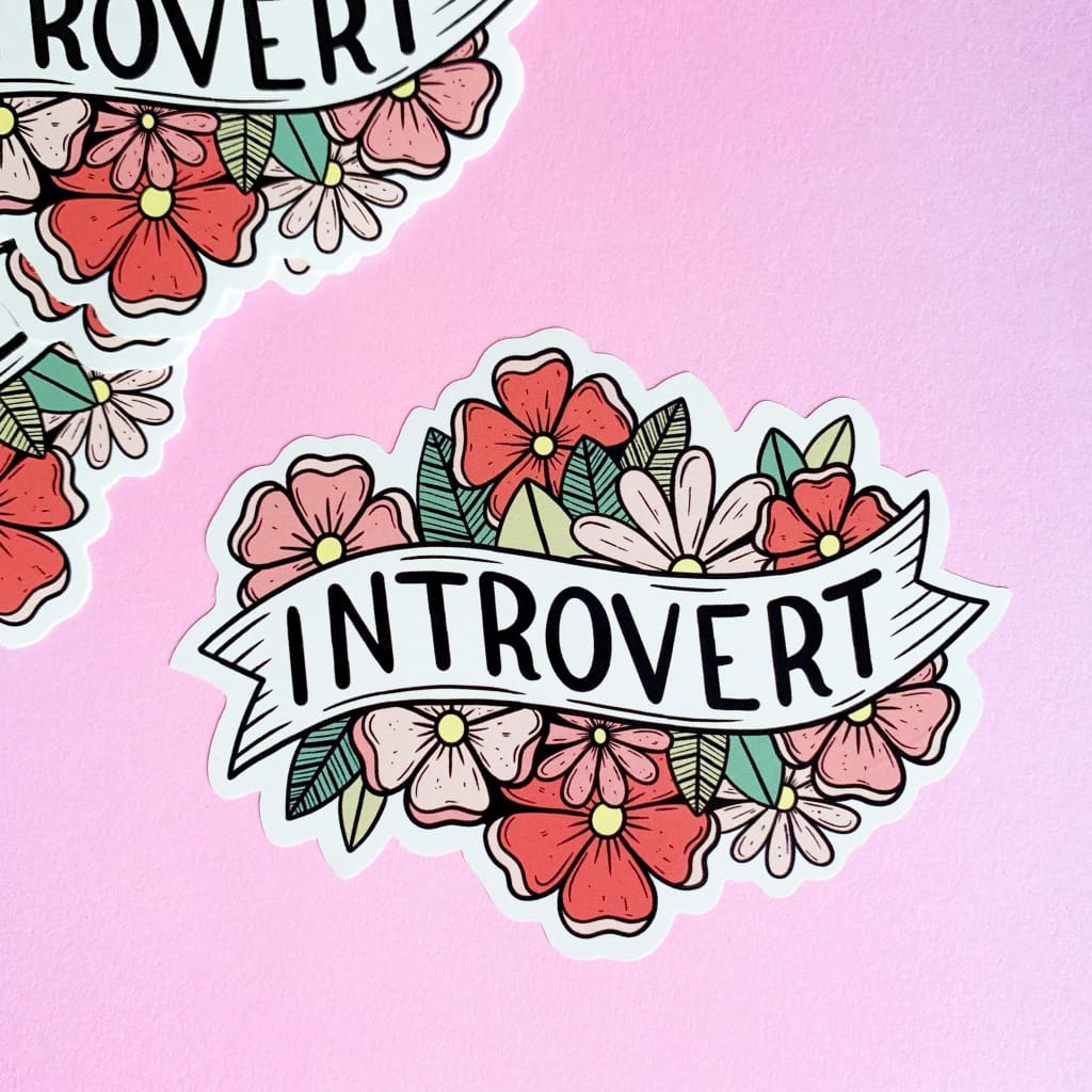 Customer Sticker Introvert - Sticker