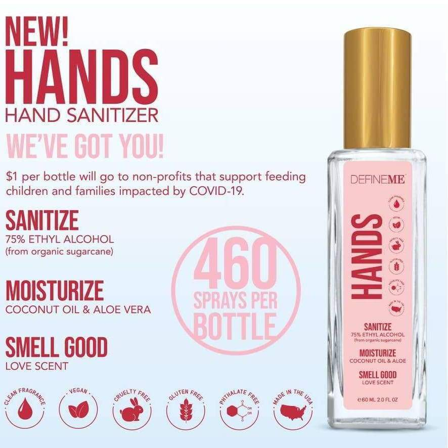HANDS *Benefit Hand Sanitizer Spray - Perfume