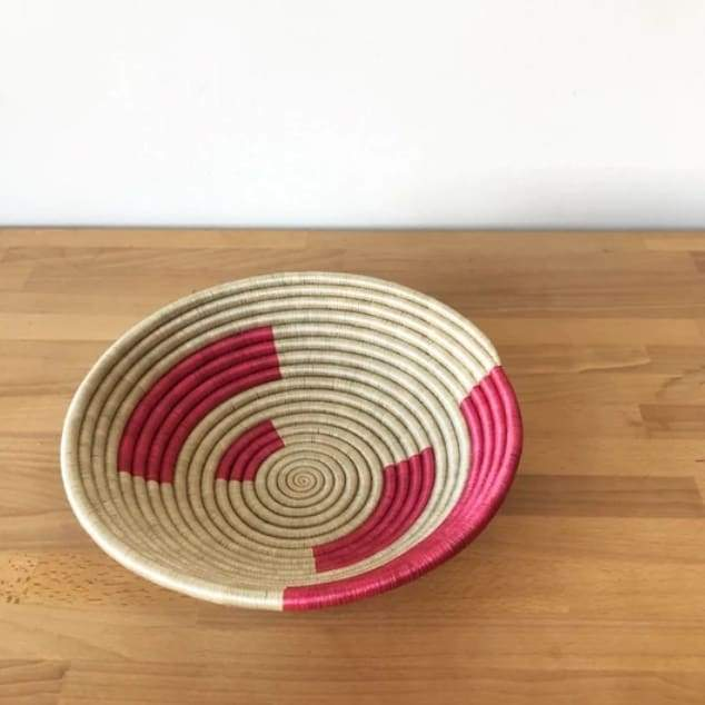 Medium Rushashi Basket Bowl - Basket