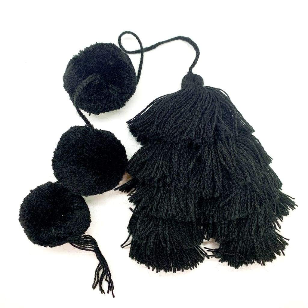 Moroccan Infinity Tassel Pom Bewitching - Pom