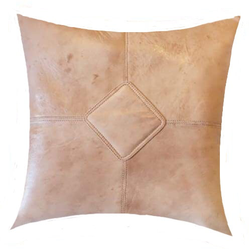 Moroccan Leather Pillow Sahara - Pillow