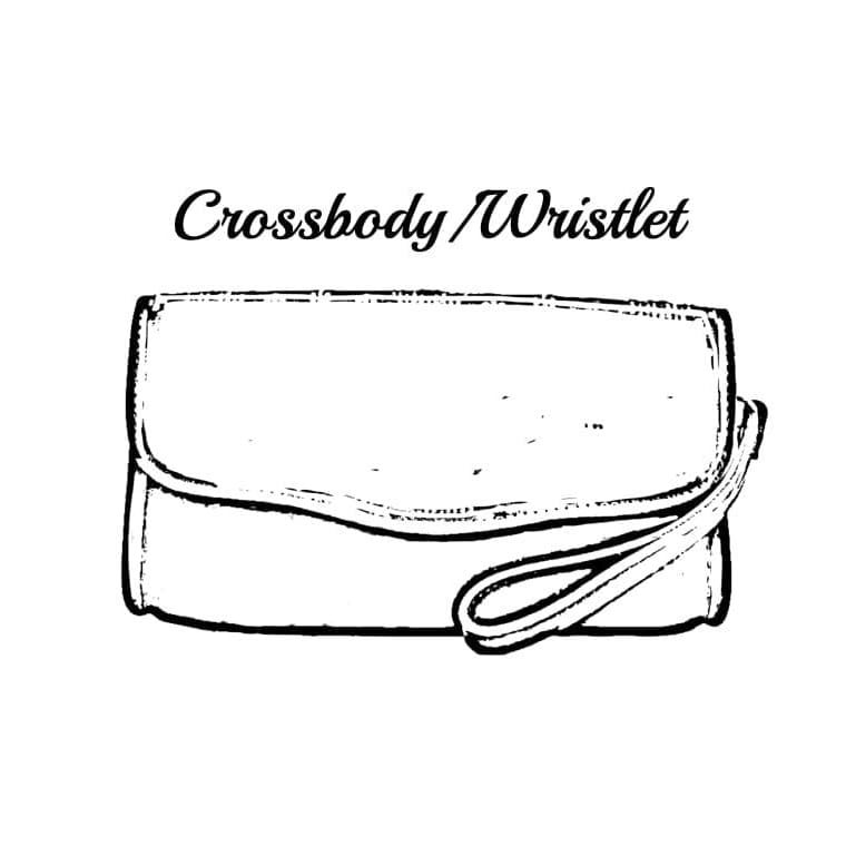 Step 5: ACCESSORIES - Crossbody/ Wristlet - Custom