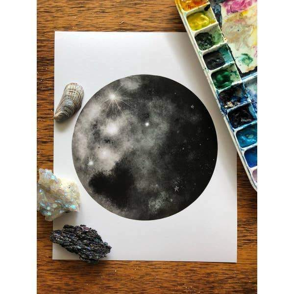 Warmth in the Moon Print - Wall Art