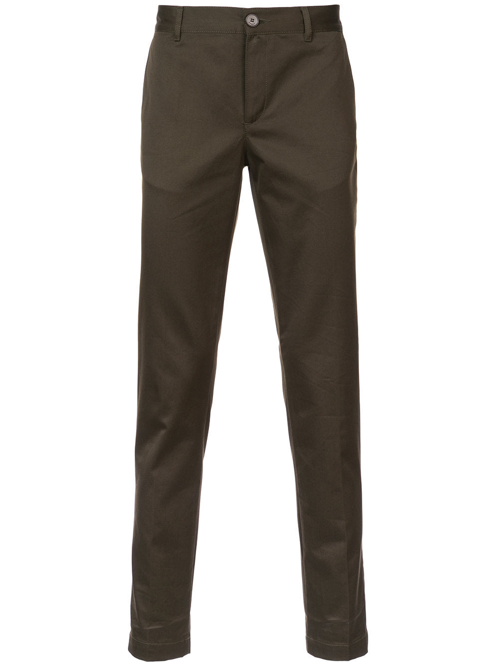 Tailored Trouser-dark green - THE UNIQUE FIT