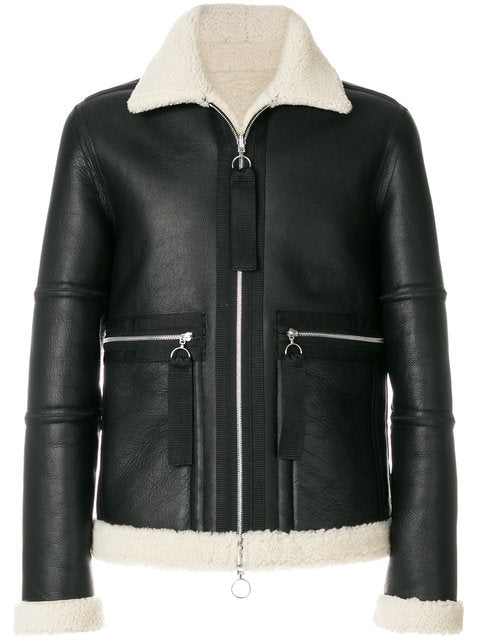 JACKET-LEATHER VL971 - THE UNIQUE FIT
