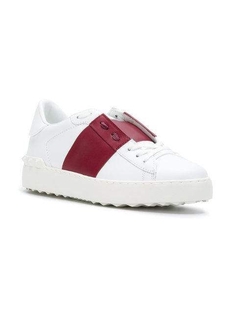 Women-White Open Sneakers - THE UNIQUE FIT