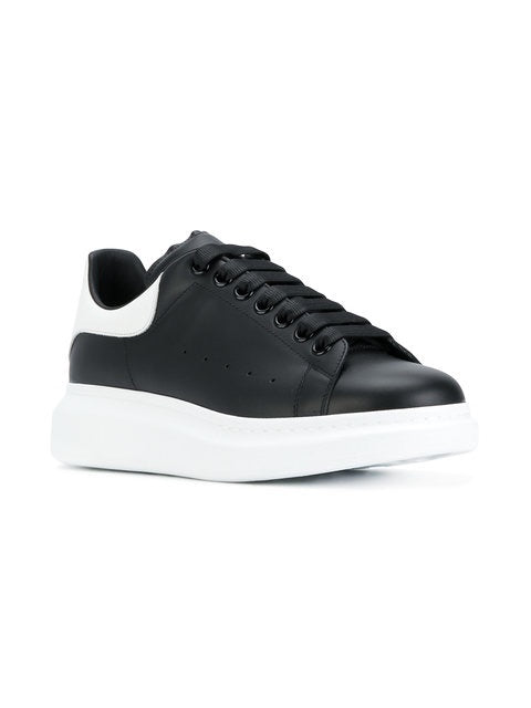 Men's ax big foot Black sneakers - THE UNIQUE FIT