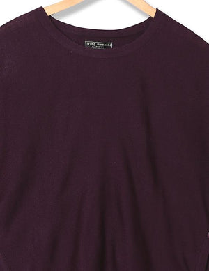 FM-women purple top (Contest) - THE UNIQUE FIT