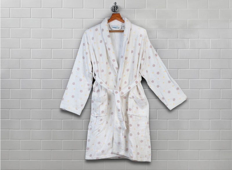 AB1.0 Bombay Dyeing Ultrx Bathrobe Dots - THE UNIQUE FIT