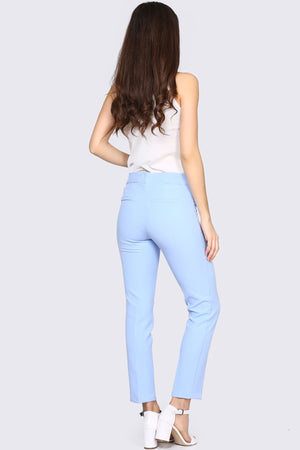 High Waist Classic Blue Skinny Jeans - THE UNIQUE FIT
