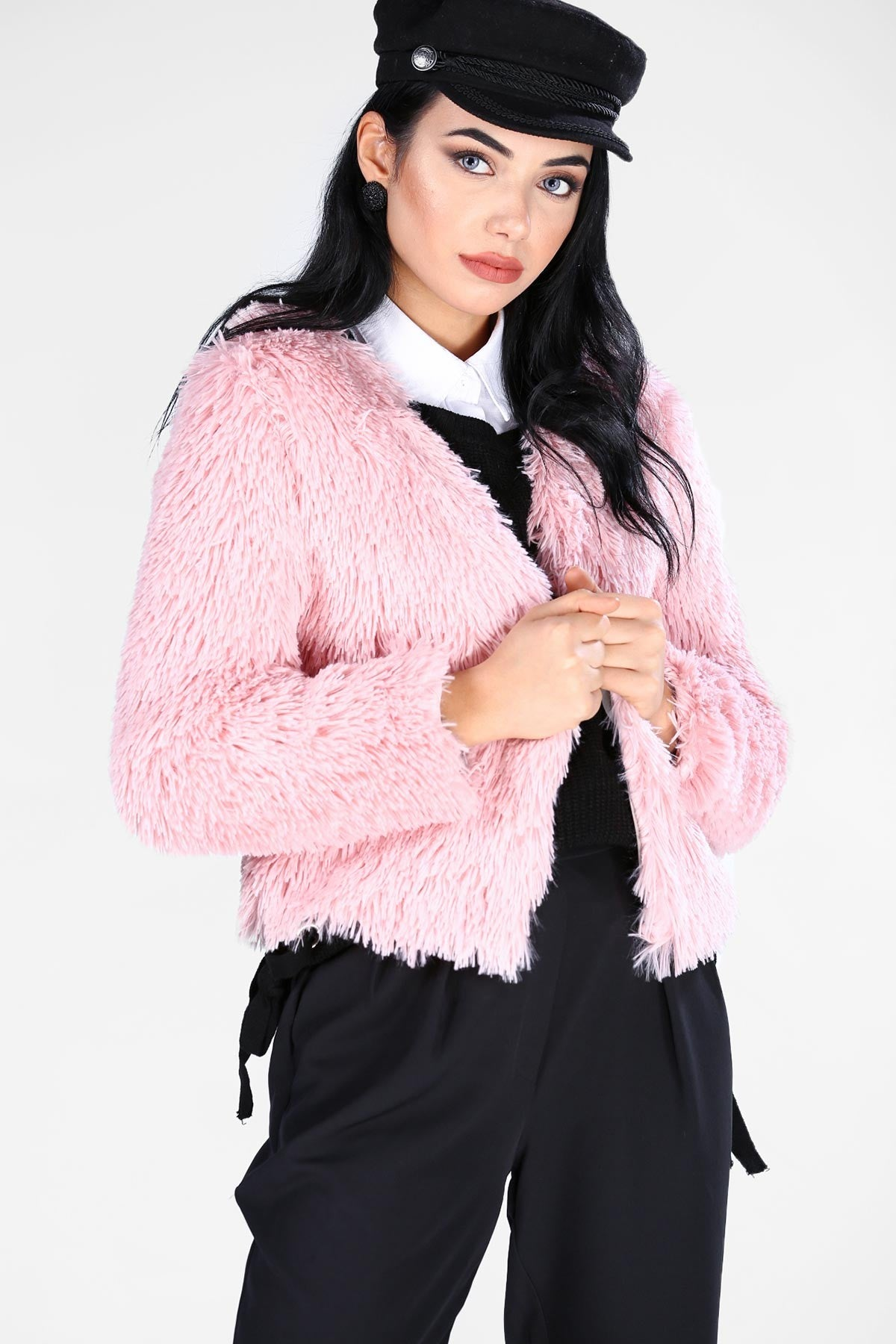Women's Soft Light Pink Jacket (Contest) - THE UNIQUE FIT