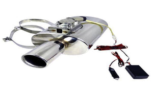 APEXI N1-STYLE UNIVERSAL MUFFLER WITH ELECTRONIC SILENCER