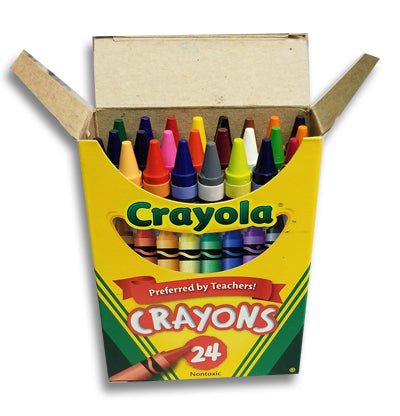 24-Pack of Crayons