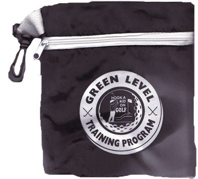 Green Level Zipper Golf Bag