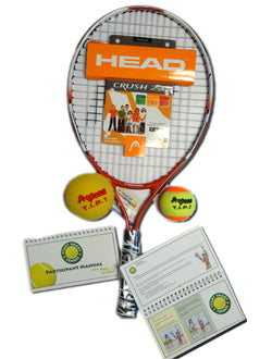 "Individual Tennis Participant Kit (with 21"" Racket)"