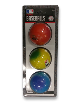 Foam Baseball 3-Pack