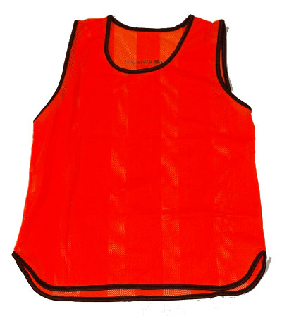 Orange Scrimmage Vest