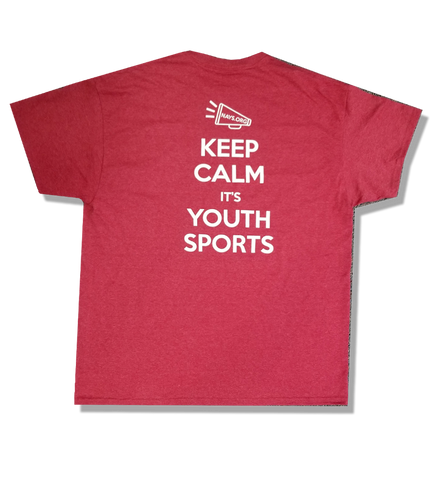 2018 Adult NAYS T-Shirt, Red - Keep Calm