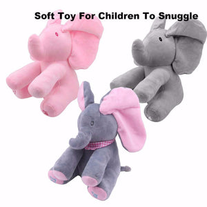 Baby Gear Baby Animated Flappy The Elephant Plush Toy  Electric Toy Doll Educational Toy