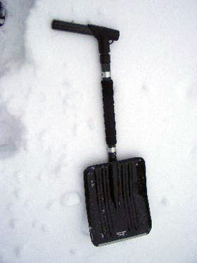 Avalanche Carbon Shovel