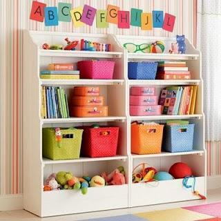 Kids Room Organization - Ideas and Tips