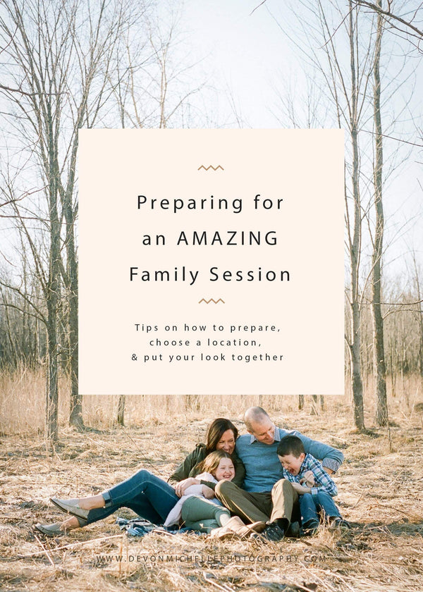 5 Tips to Prepare for Your Family Photography Session
