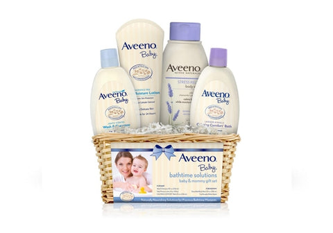 Aveeno baby lavender bath set for mom and baby